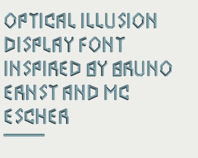 optical-display-font